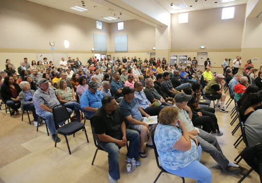There was a large turnout for the Inter-Neighborhood Council Organization meeting at the South Oxnard Center on July 11, 2019. Oxnard City Council members talked to the public about a host of topics, such as crime, parking and vagrancy.