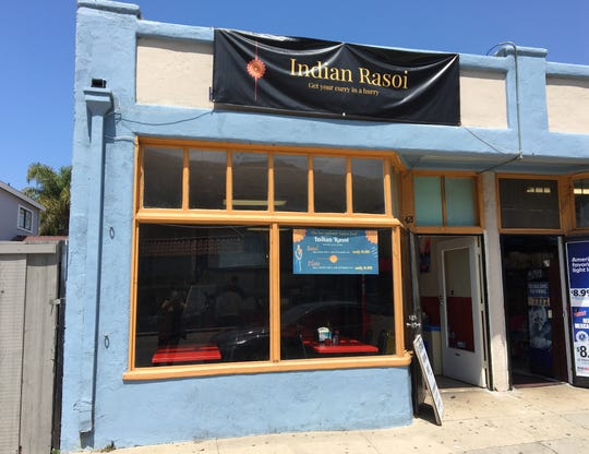 """Indian Rasoi offers """"curry in a hurry"""" at 421 N. Ventura Ave. in Ventura. The restaurant was opened in June by members of the same family that once operated Maharaja Cuisine of India in midtown Ventura."""