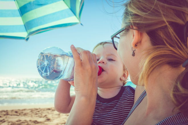 Hot, humid summer weather increases the risk of dehydration for everyone, especially the very young, the elderly and people with chronic conditions.