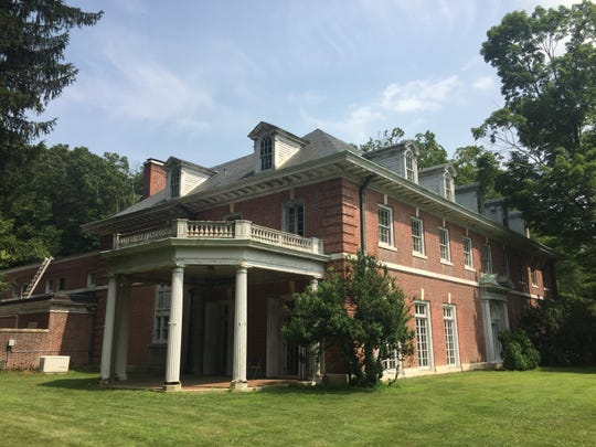 The mansion at Merestead, a Westchester County park in Bedford that was formerly the Sloane estate. The property was photographed July 10, 2019.