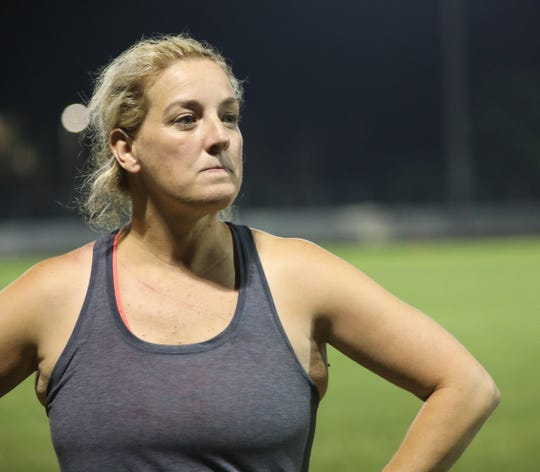 Mary O'Rourke-Ryan of Pearl River talks about why she loves playing Gaelic football in Orangetown July 10,  2019.