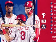 Friday's Phillies-Nationals lineups: Phils won't have Realmuto for series opener