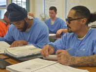 No girls, parties, cellphones: California's prison inmates are getting bachelor's degrees