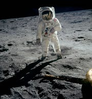 """Astronaut Buzz Aldrin still marvels """"that we went to the moon."""""""