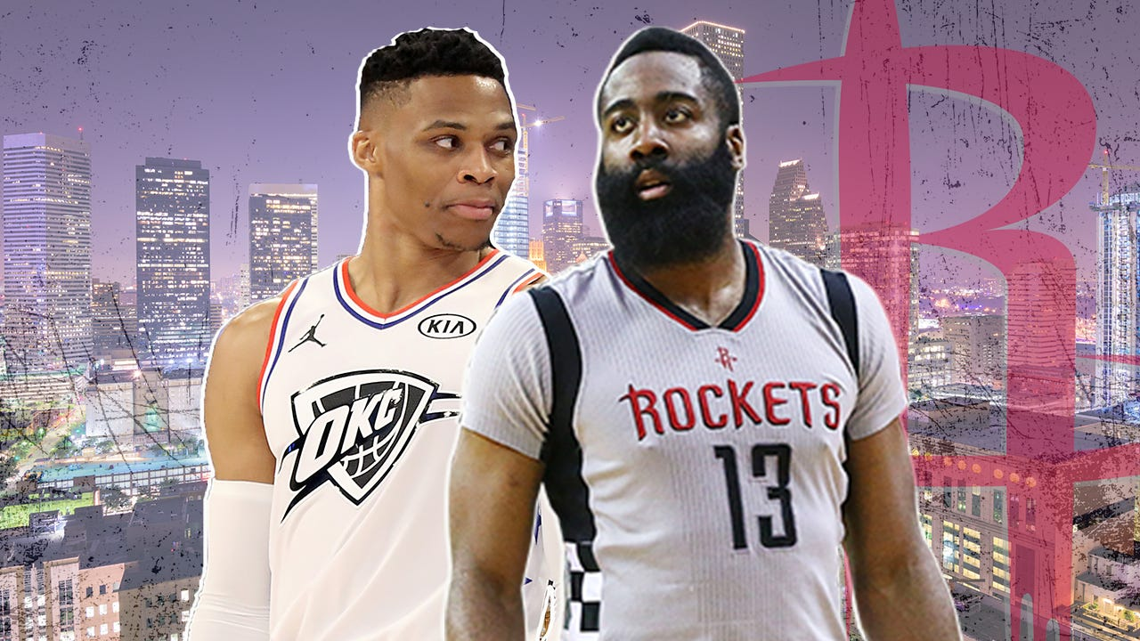 Blockbuster trade reunites Russell Westbrook and James Harden