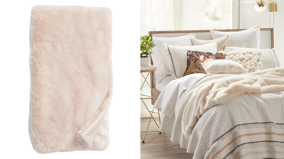 Because you can never have too many blankets.