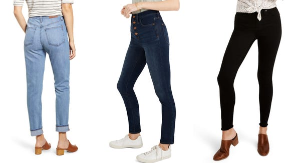 Grab a pair of the best Madewell jeans during this sale.