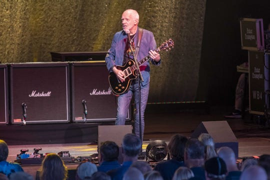 Peter Frampton Finale, The Farewell Tour at Riverbend Music Center.  After 50 plus years of touring Frampton has announced this upcoming tour will be has last.