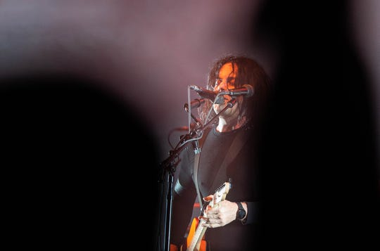 Jack White of the Raconteurs performs at the Masonic Temple in Detroit on Friday, July 12, 2019. This is their first concert in Michigan in 8 years.
