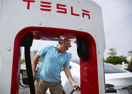 Today, only about 600,000 electrical vehicles are in use in California.