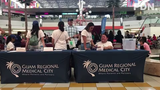 Charly Lauron speaks on the annual Guam Regional Medical City Health Fair held at the Micronesia Mall on Saturday, Jul 13, 2019.