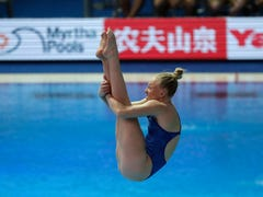 Indy's Sarah Bacon is first U.S. female diver to medal since 2005