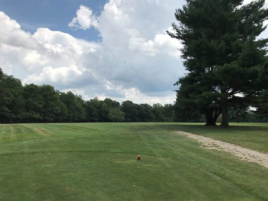 No. 13 at The Woods at Possum Run starts a string of very long Par 4's that make scoring well on the back difficult.