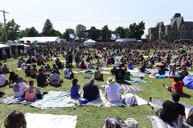 Thousands of people filled the lawn of the Ohio State Reformatory for the 2019 INKcarceration music festival.