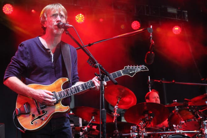 Phish performs at Alpine Valley Music Theatre on July 12, 2019.