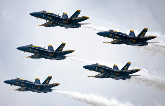 Wednesday is a busy day for Blue Angels fans as they have the option to sail with the Blues beginning at 9 a.m., take the ultimate Blue Angels practice cruise at 10:45 a.m. or simply watch them practice at 11:30 a.m.