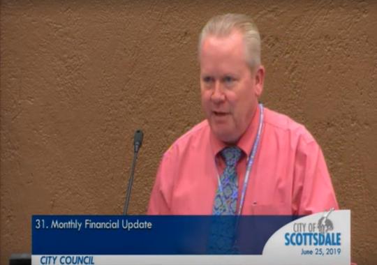 Scottsdale city treasurer Jeff Nichols.
