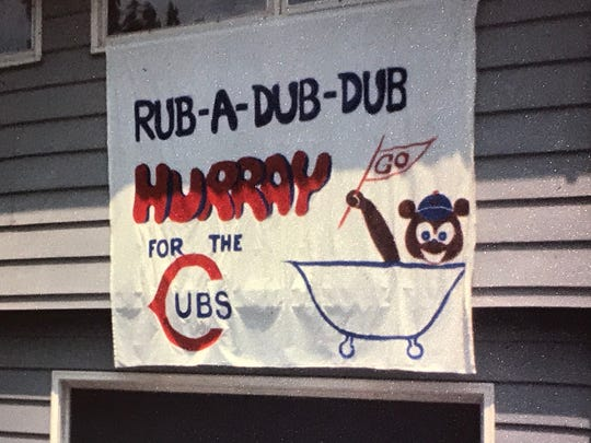 As for our house growing up, it was Chicago Cubs all the way.