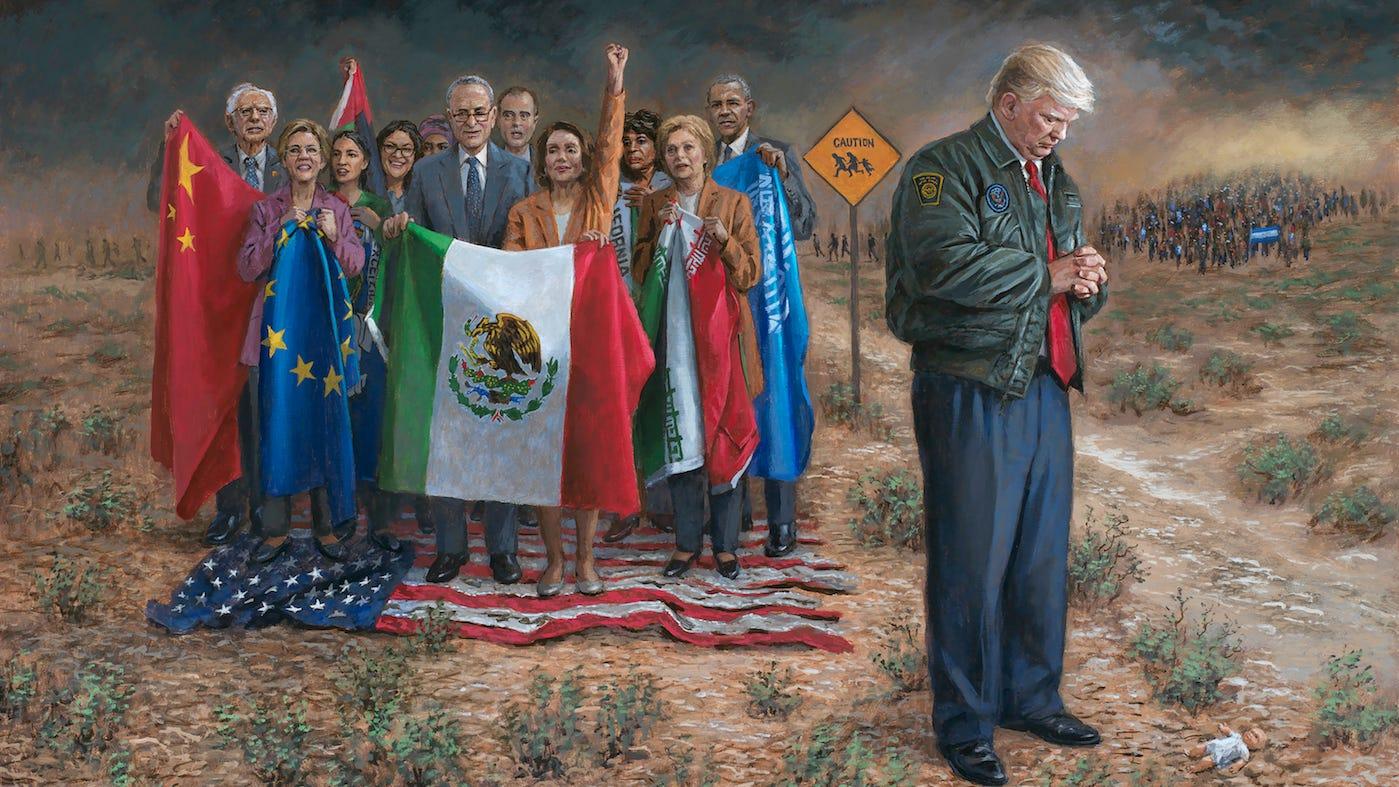Jon McNaughton donates Trump artwork to help Arizona GOP raise money