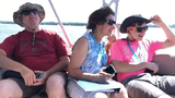 Experience the first official boat tour of the summer provided by Susquehanna National Heritage Area River Discovery Tours at Zimmerman Center for Heritage in Wrightsville, Saturday, July 13, 2019.