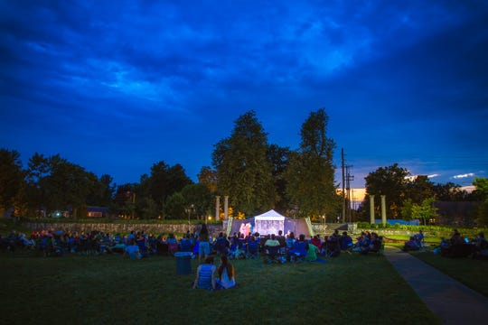"""Peformances of the Actors Theatre of Missouri's Shakespeare at the Columns production of """"As You Like It"""" continue this weekend at the Springfield Art Museum. Bring a blanket or lawn chair."""