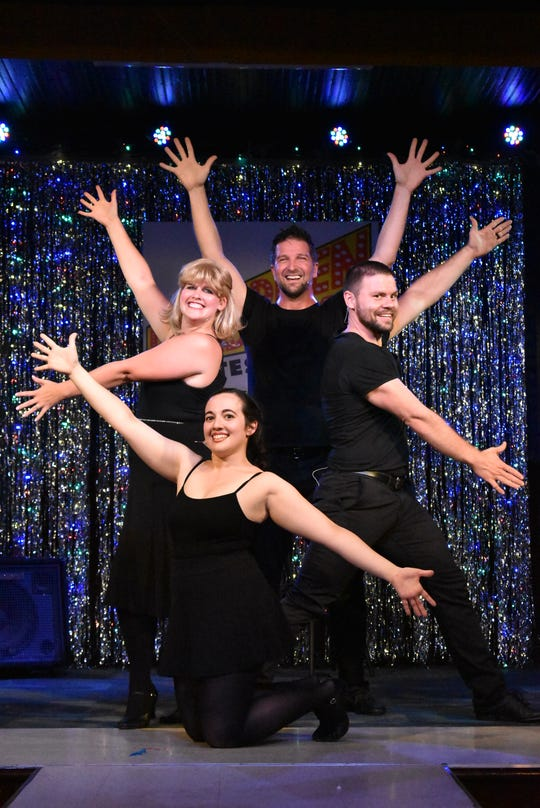 """""""Forbidden Broadway"""" features a cast of just four people playing many roles."""