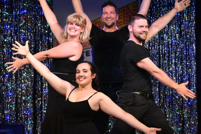 """Forbidden Broadway"" features a cast of just four people playing many roles."