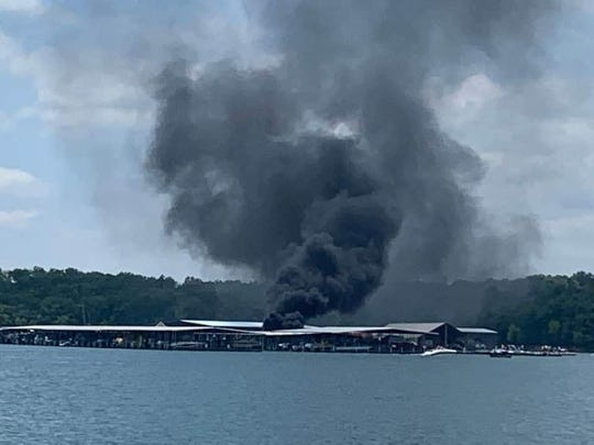 Four people were injured when a boat exploded at the fueling dock of Kings River Marina on Table Rock Lake, according to the Missouri State Highway Patrol and the Central Crossing Fire Protection District in Shell Knob.