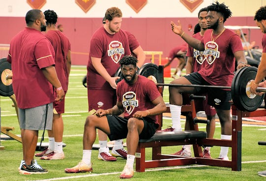Well over half of FSU's 2019 roster attended Saturday's optional Lift for Life event.