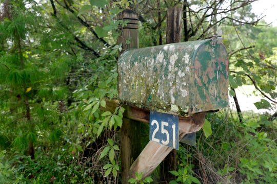 The mailbox at the end of the Ceskas' driveway. The couple was arrested on charges in connection with the years long abuse of two girls.