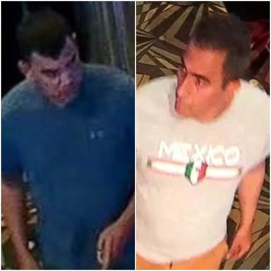 These two men are suspected of stealing $1,200 from a casino ATM using duplicated cards, El Paso police say.
