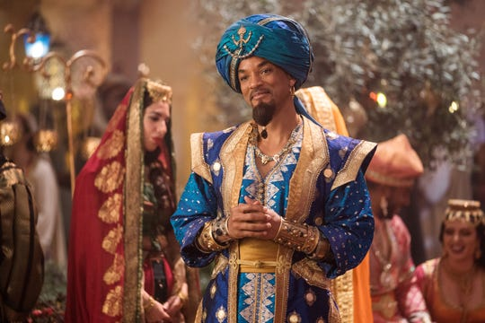 "Will Smith takes over Robin Williams' iconic Genie role in Disney's live-action ""Aladdin."""