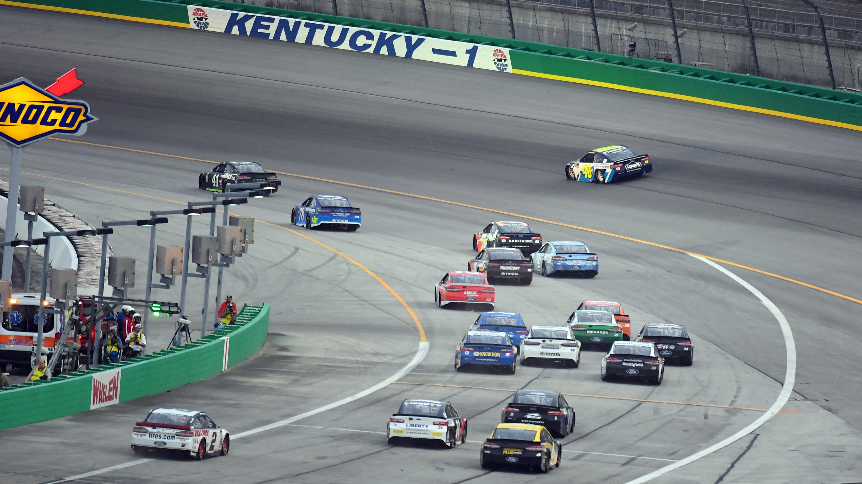 NASCAR at Kentucky: What time does the 2019 Cup race start