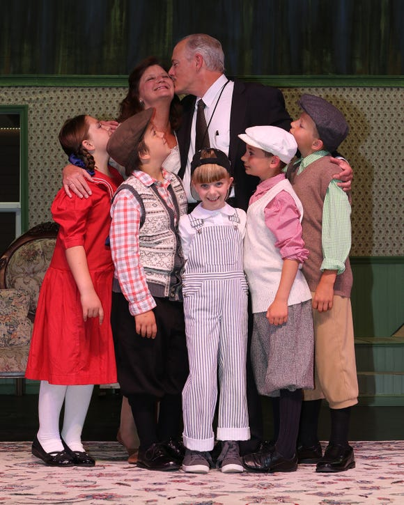 "The family comedy ""Cheaper by the Dozen"" is up and running at Port Gamble Theater."