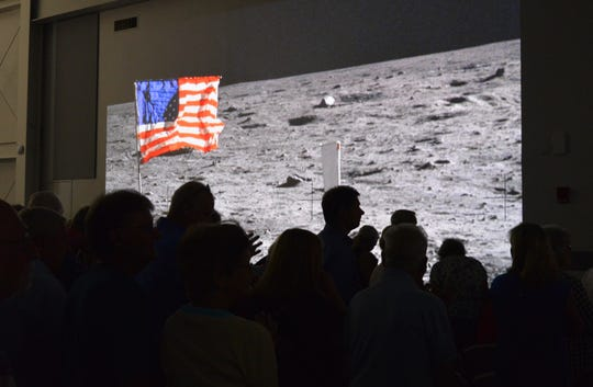 On Sunday, more than 600 Apollo-era workers and their families gathered at the Astronauts Memorial Foundation at the Kennedy Space Center Visitor Complex for the Apollo 11 anniversary workers reunion.