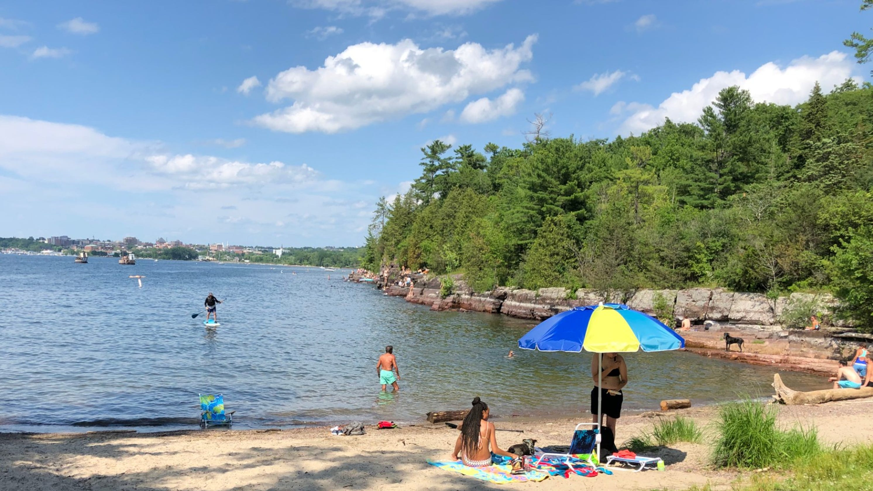 fa4086bd9c49 Relax, you're at the lake! But if you head to the ocean, here's how to stay  safe
