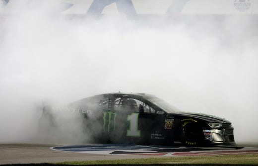 Tempers flare after William Byron restart penalty at Quaker State 400