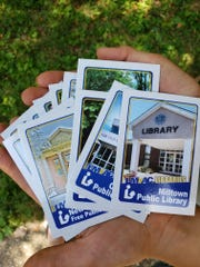 The LMxAC - Libraries of Middlesex Automation Consortium - is running a summer trading card collection program where players can pick up trading cards at each of LMxAC's 32 member libraries and enter a drawing to win a prize.