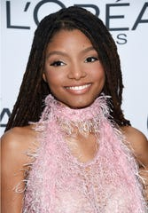"Halle Bailey, half of the sister duo Chloe x Halle, will star as Ariel in the upcoming adaptation of ""The Little Mermaid."""