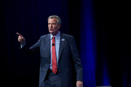 New York City Mayor Bill de Blasio has said the city would not cooperate with ICE.