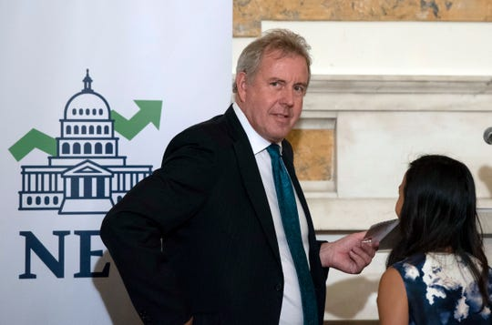 "British Ambassador Kim Darroch says President Donald Trump pulled out of an international nuclear deal with Iran as an act of ""diplomatic vandalism"""