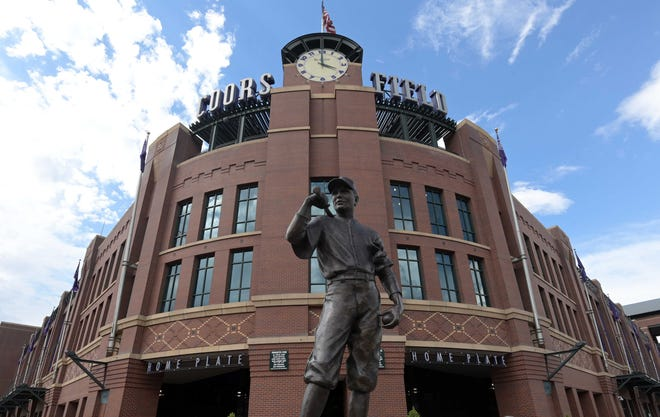 The Colorado Rockies host a doubleheader against San Francisco Monday, with games at 12:10 p.m. and 6:40 p.m.