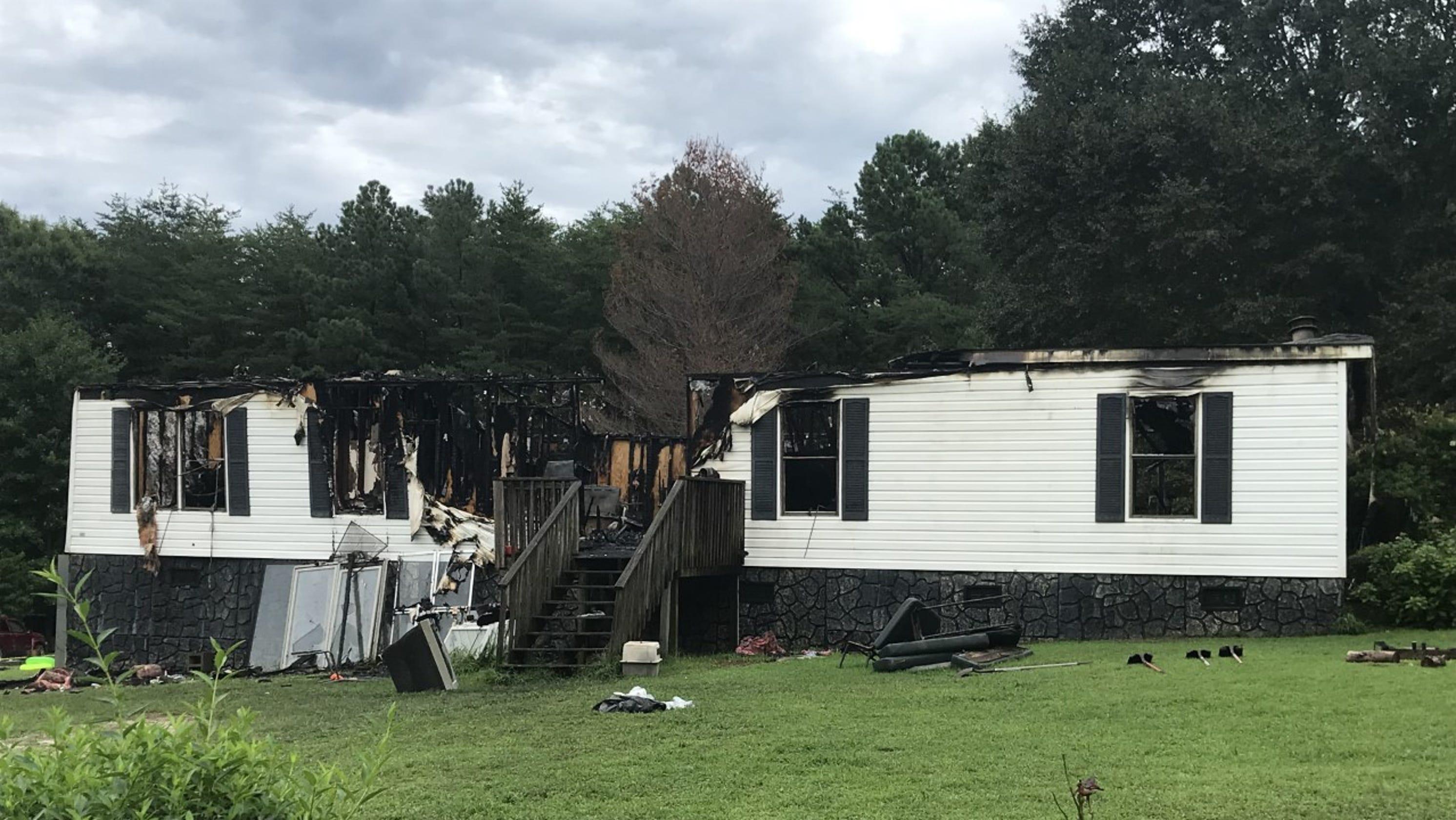 Arson suspected in fire that killed 2 men near Walhalla