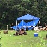 Family members had gathered for a birthday party that turned tragic late Saturday night when two men died in a house fire near Walhalla