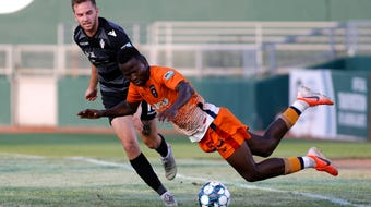 Watch the goals and here from Tumi Moshobane, Nfor and coach Nate Miller after LIFC's 3-0 win over Orlando City B on Saturday.