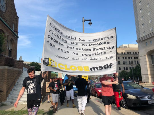 #CLOSEmsdf organizers host a march to the facility and Aurora Sinai Medical Center on Saturday.