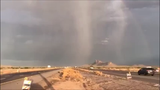 Rain, hail, lightning and dust on Interstate 10 near Picacho Peak are captured in this video from ADOT on Saturday, July 13, 2019.