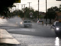 Storm erupts over Tucson metro area; advisories also issued for La Paz County