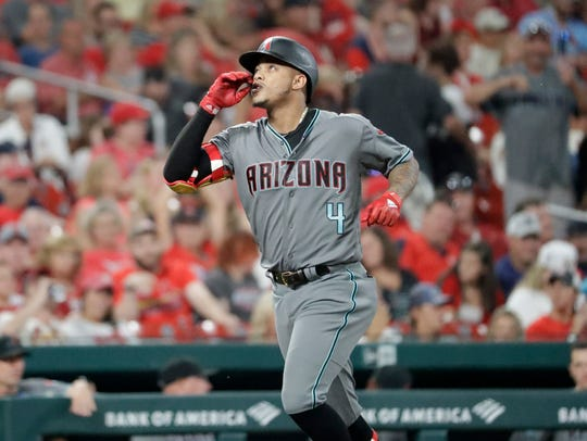 The Diamondbacks' trade for Ketel Marte is starting to look very good.