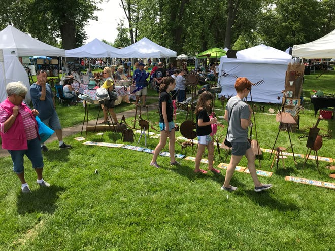 Locals of all ages had plenty of opportunities to find art that appealed to them with various shows held throughout the county this past weekend.